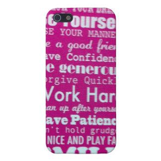 Dream manner friend confidence generous forgive iPhone SE/5/5s cover