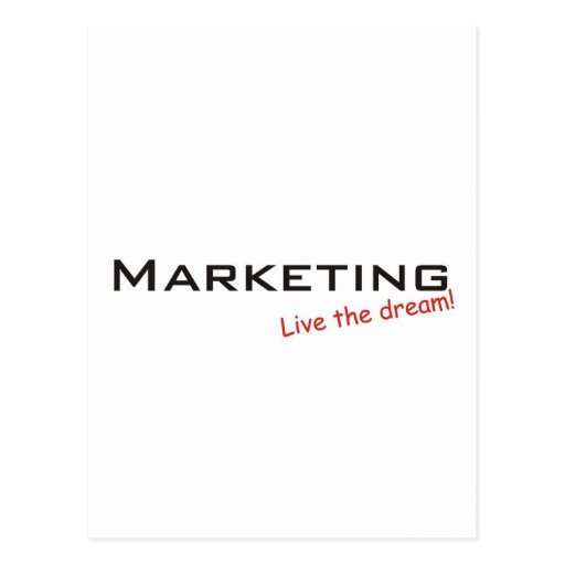 Dream / Marketing Postcard
