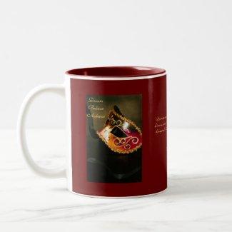 Dream Masqurade Mask Motivational Graduation Mug mug