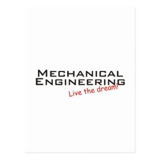 Dream / Mechanical Engineering Postcard