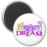 Dream-Mer Dream Mermaid Fridge Magnet