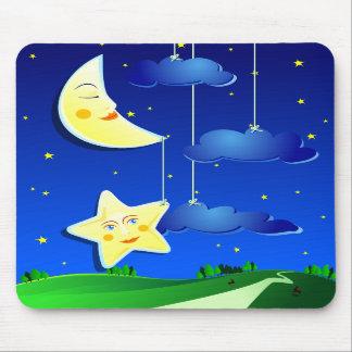 Dream night, mousepad