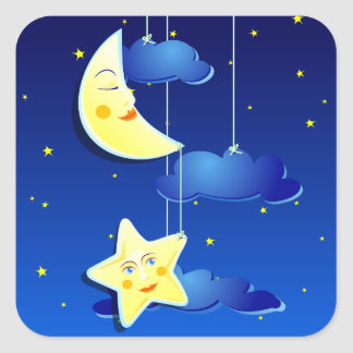 Dream night, sticker