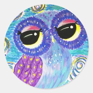 Dream Odyssey Round Sticker