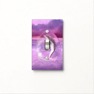 Dream Of Dolphins Light Switch Cover