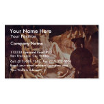 Dream Of Ossian By Ingres Jean Auguste Dominique ( Business Card
