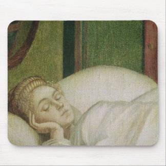 Dream of St. Ursula, 1495 Mouse Pad