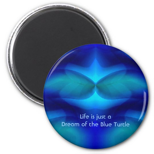 Dream of the Blue Turtle Magnet