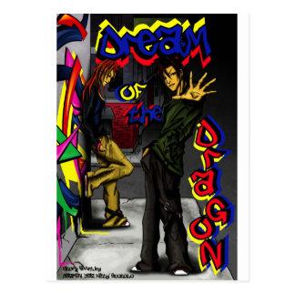 'Dream of the Dragon-Chillin' in NYC' Postcard