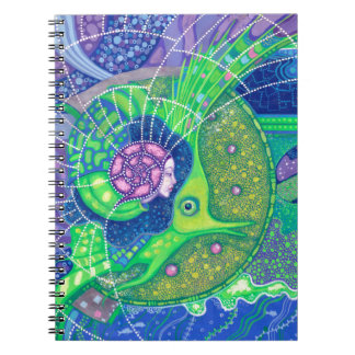 Dream of the full moon spiral notebook