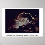 Dream Of The Shepherd By Johann Heinrich Fuseli Poster