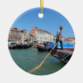 Dream of Venice Ceramic Ornament