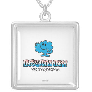 Dream On With Mr. Daydream Silver Plated Necklace