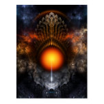 Dream Orb Fractal Art Postcard