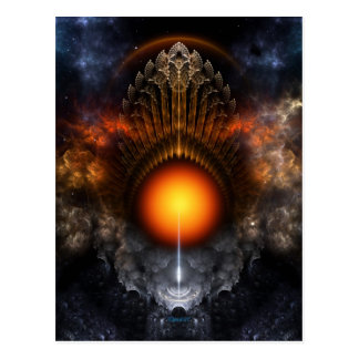 Dream Orb Fractal Art Postcard