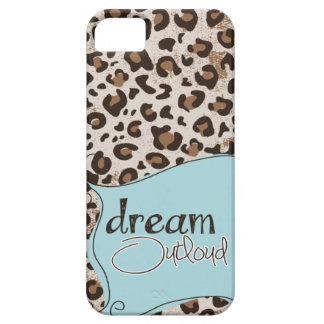 Dream Outloud Leopard iPhone 5  case Mally Mac