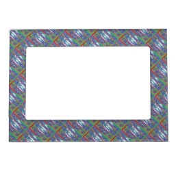 Dream Patterns Sparkles Borders Magnetic Photo Frame