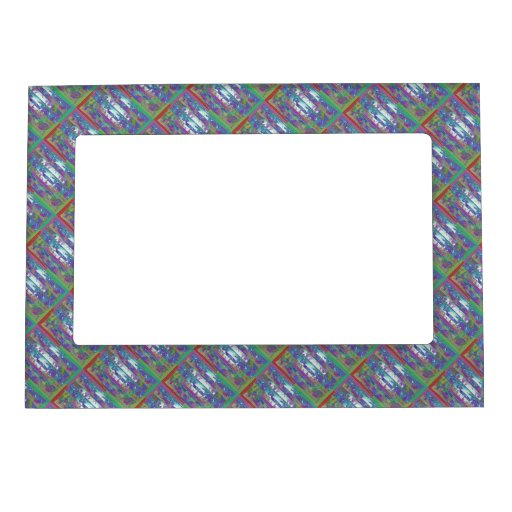 Dream Patterns Sparkles Borders Magnetic Photo Frame