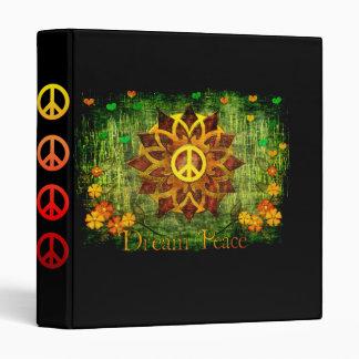 Dream Peace 3 Ring Binder