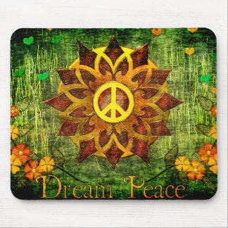 Dream Peace Mouse Pad