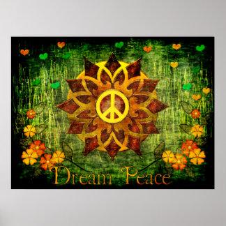 Dream Peace Poster