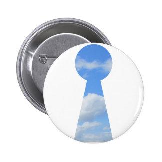 Dream Pin Redondo De 2 Pulgadas