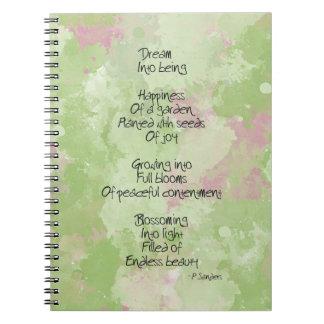 Dream Poem Note Book