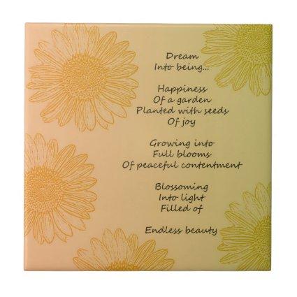 Dream Poem Tiles