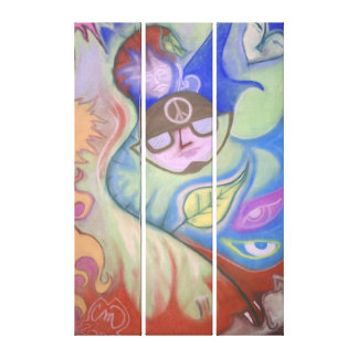 Dream Police and the French Balladeer Canvas Print