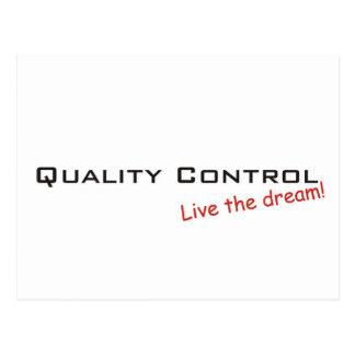 Dream / Quality Control Postcard