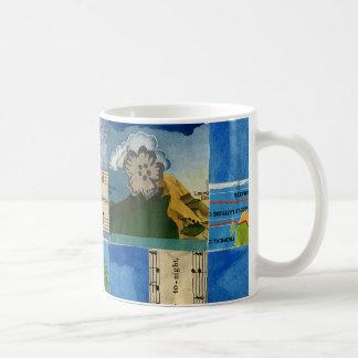 Dream Quilt bottom Mugs
