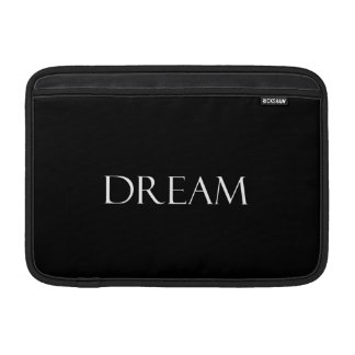 Dream Quotes Inspirational Quote MacBook Air Sleeve