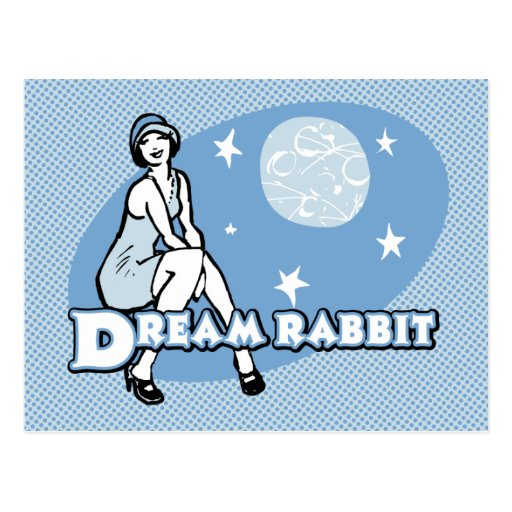 Dream Rabbit Postcard