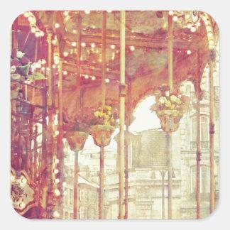 Dream Ride Square Sticker