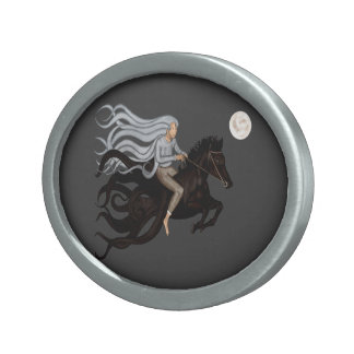 Dream Rider Oval Belt Buckle