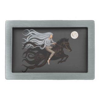 Dream Rider Rectangular Belt Buckle