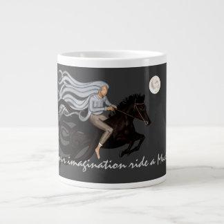 Dream Rider 20 Oz Large Ceramic Coffee Mug