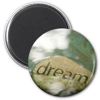Dream Rock 2 Inch Round Magnet