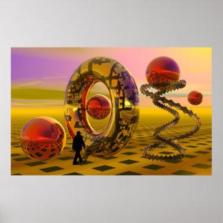 Dream scape poster