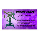 dream scope Double-Sided standard business cards (Pack of 100)