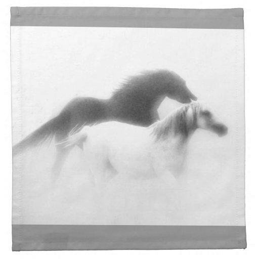 """Dream"" series horse napkins"