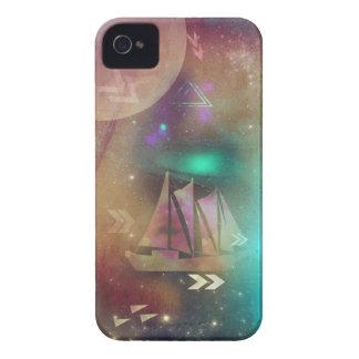Dream Ship Sailing through Galaxies iPhone 4 Case