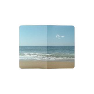 Dream Shore Custom Moleskin Journal Cover Pocket Moleskine Notebook