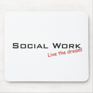Dream / Social Work Mouse Pad