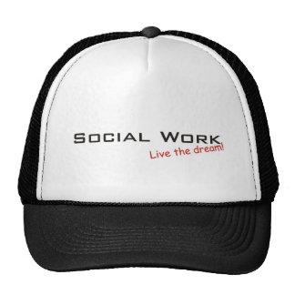 Dream / Social Work Trucker Hat