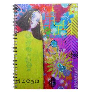 Dream Spiral Notebook