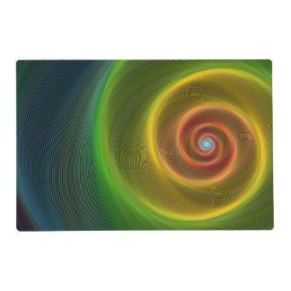 Dream spiral placemat