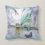 Dream Spot Faerie and Butterfly Throw Pillow