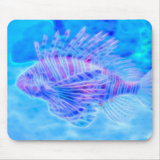Dream State Lionfish Mouse Pad