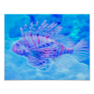 Dream State Lionfish Poster